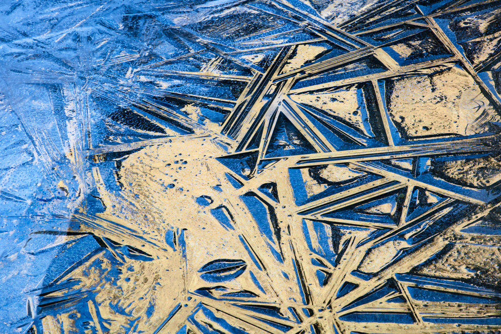Ice Abstract, Merced River