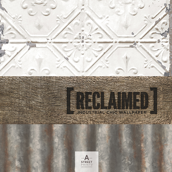 Reclaimed - Industrial Chic Wallpaper