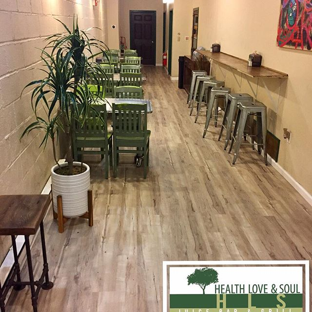 Look who's getting a makeover! We're so excited about our new floors! More to come! 🙌🏽 - 😋👌 - HLS Juice Bar + Grill www.hlsrestaurant.com/ #FoodForThought #HLSMaplewood #mapso #maplewoodnj #irvington #healthyfood #healthyrecipes #healthyeatinghabits #lifestyles #juicecleanse #veggies #veggiegrill #plantbaseddiet we also have #protiens like #hormonefreechicken , #salmon, #turkey, #bison, and so much more. #mapsomedia #lunchideas #dinnerideas #caterers #brainfood #brainhealth #healthymealideas #livelovemaplewood #mattersmagazine #mostlymaplewood #simplysouthorange #springfieldavepartnership