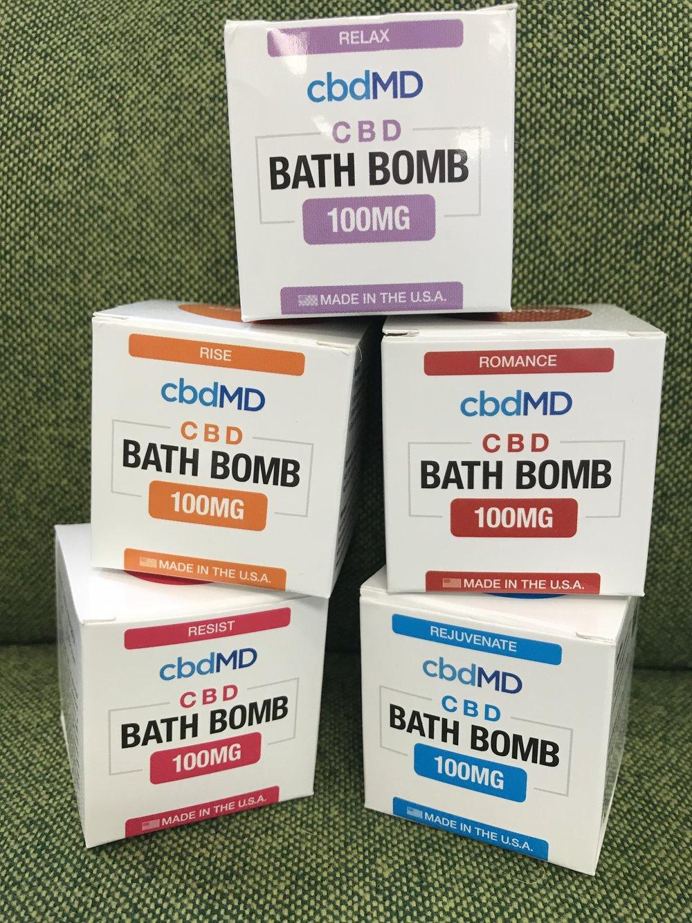 cbdMD Bath Bomb 100mg - $9.99*