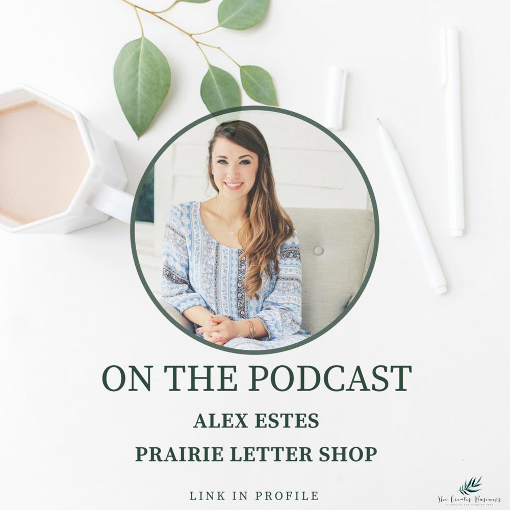 Photo of Alex Estes from Prairie Letter Shop