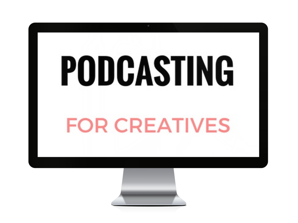 Podcasting for Creatives is a course for creative entrepreneurs where we'll learn everything you need to know to start a podcast you can be proud of!