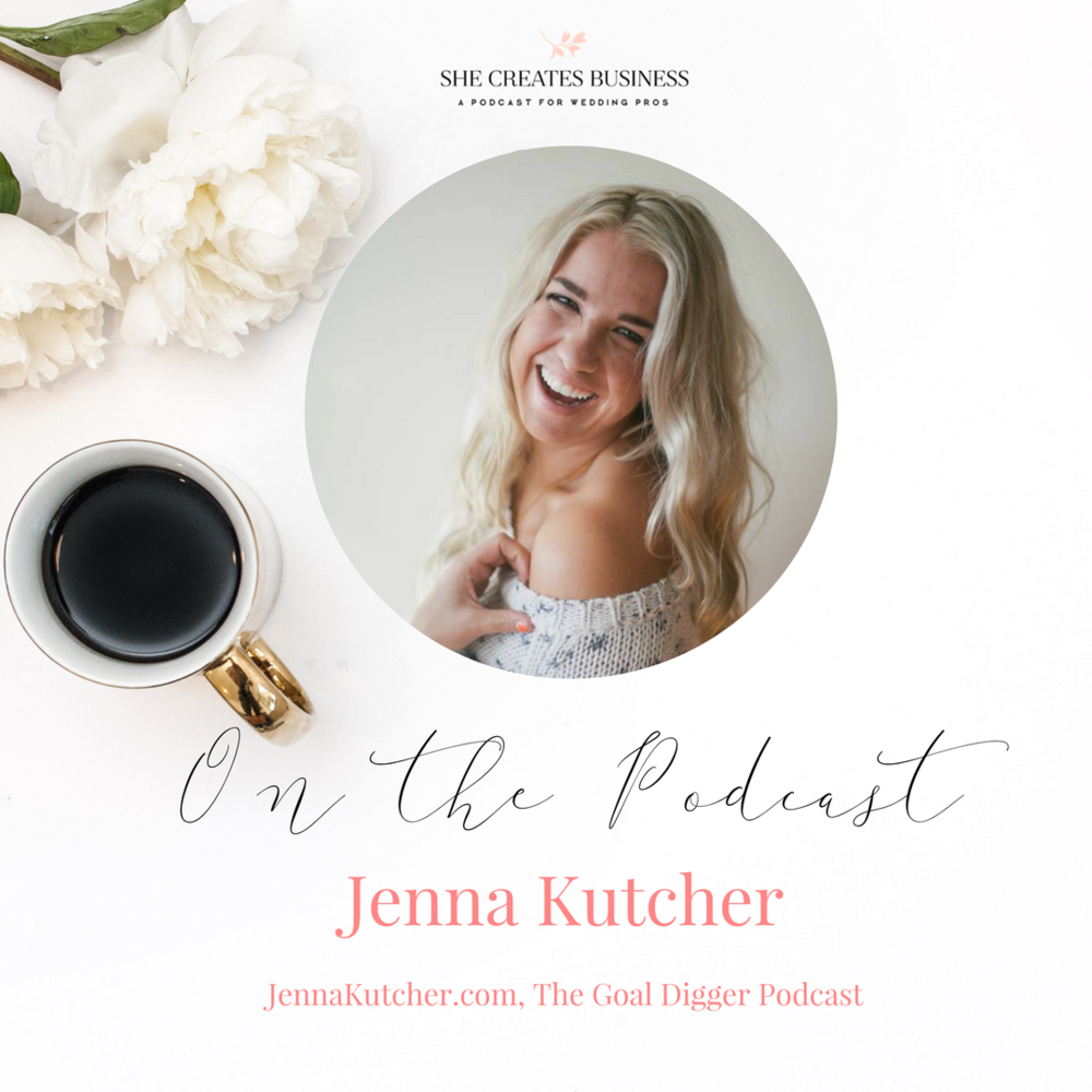 Jenna Kutcher on building her email list, creating digital courses and starting The Goal Digger Podcast