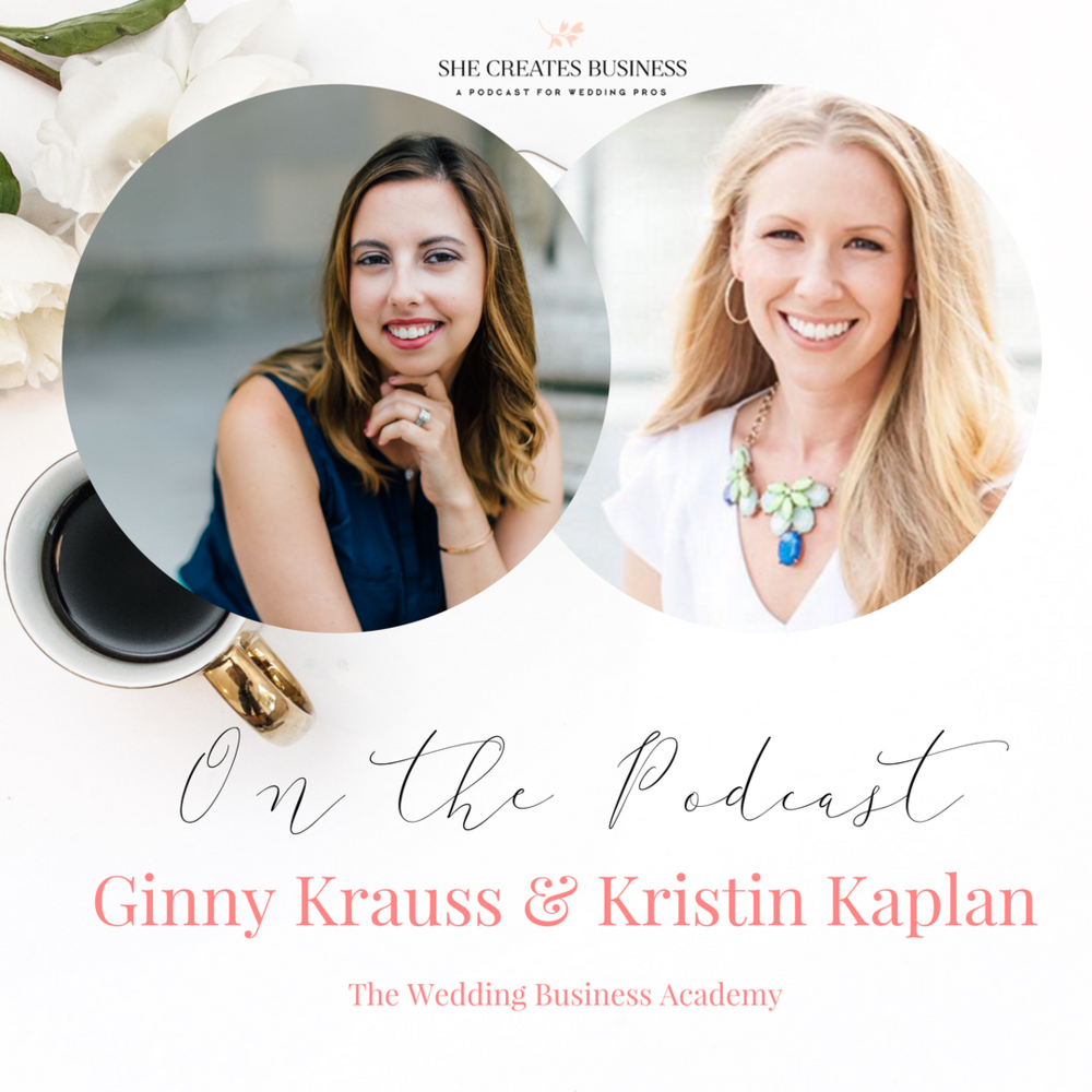 The Wedding Business Academy is a 6-month group coaching program for wedding industry professionals. It is an educational program where you will have the opportunity to learn, mastermind and grow your business with other industry pros.