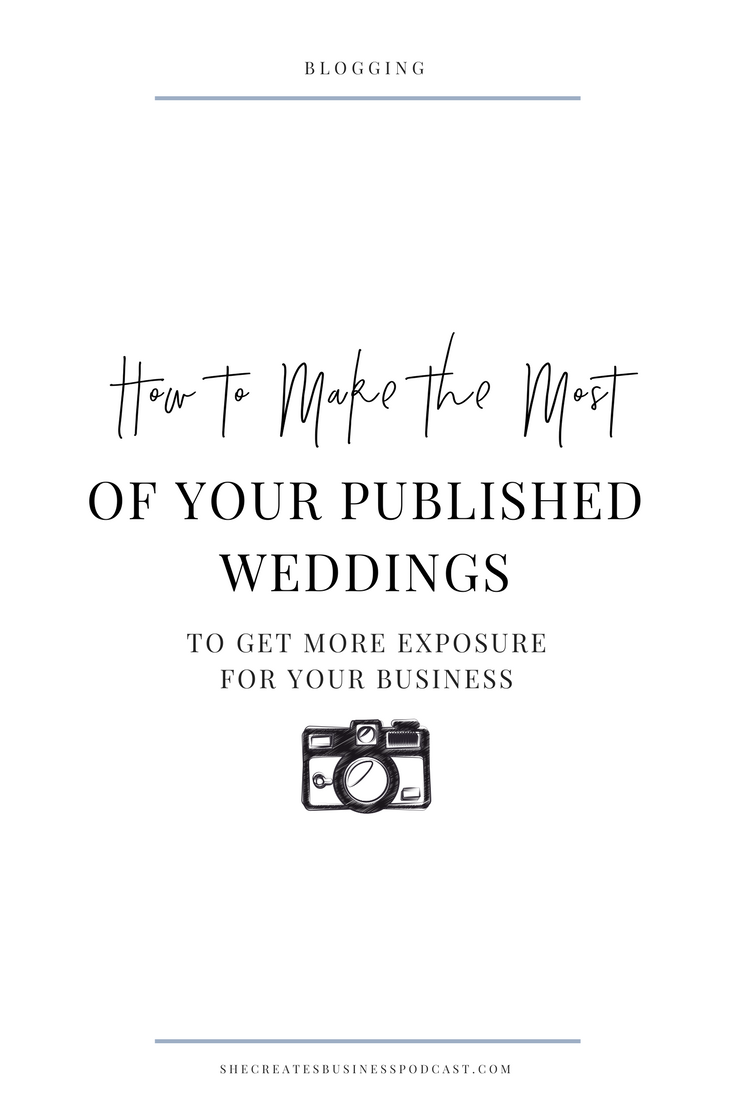 How to make the most of your published weddings to get more exposure for your business