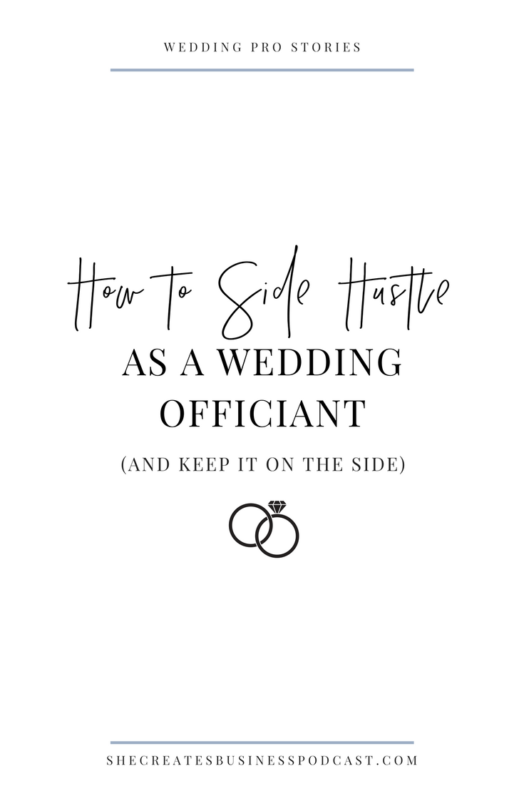 How to Start a Business as a Wedding Officiant