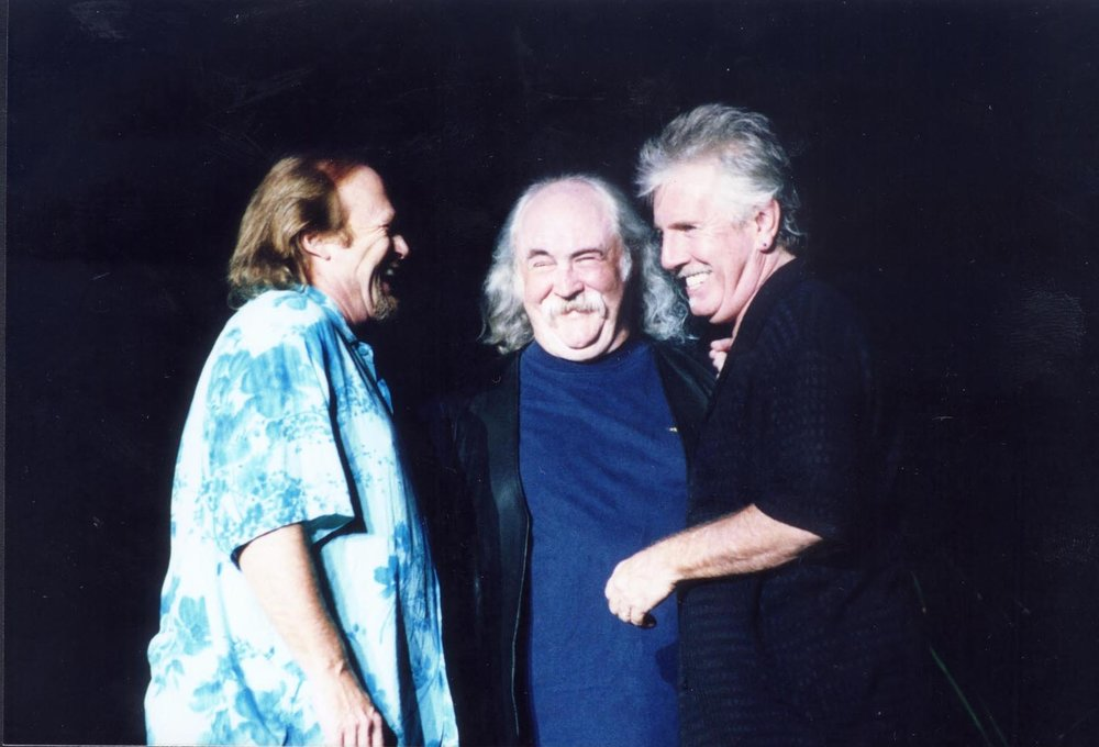 Stephen Stills, David Crosby and Graham Nash.  Photo by RD Mathers