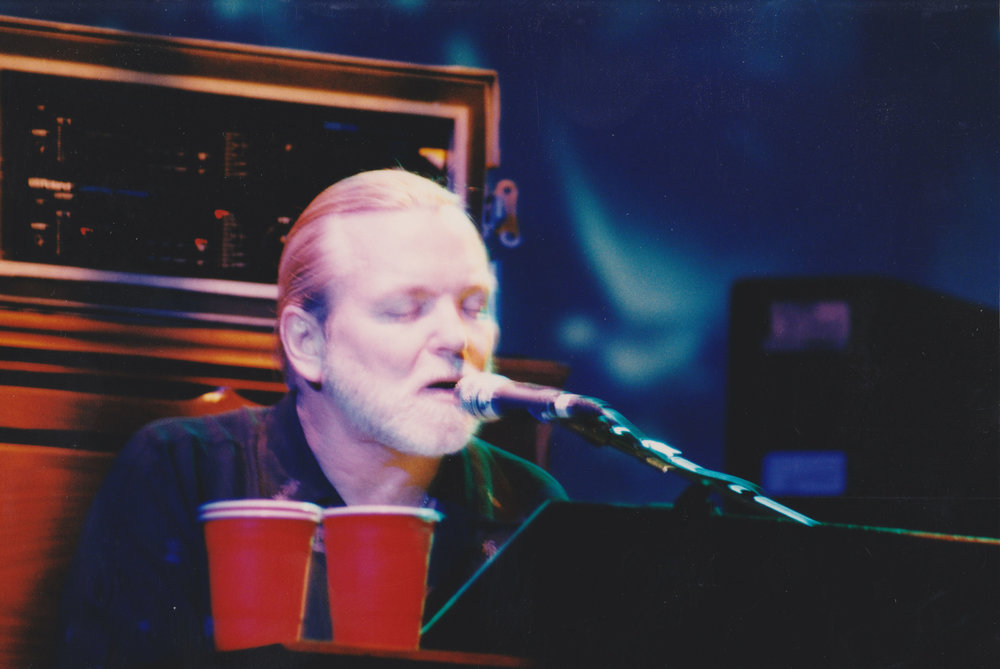 Gregg Allman.  Photo by RD Mathers