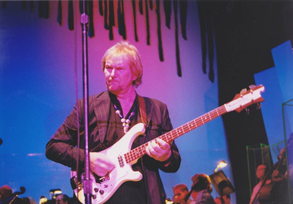 Chris Squire.  Photo by RD Mathers