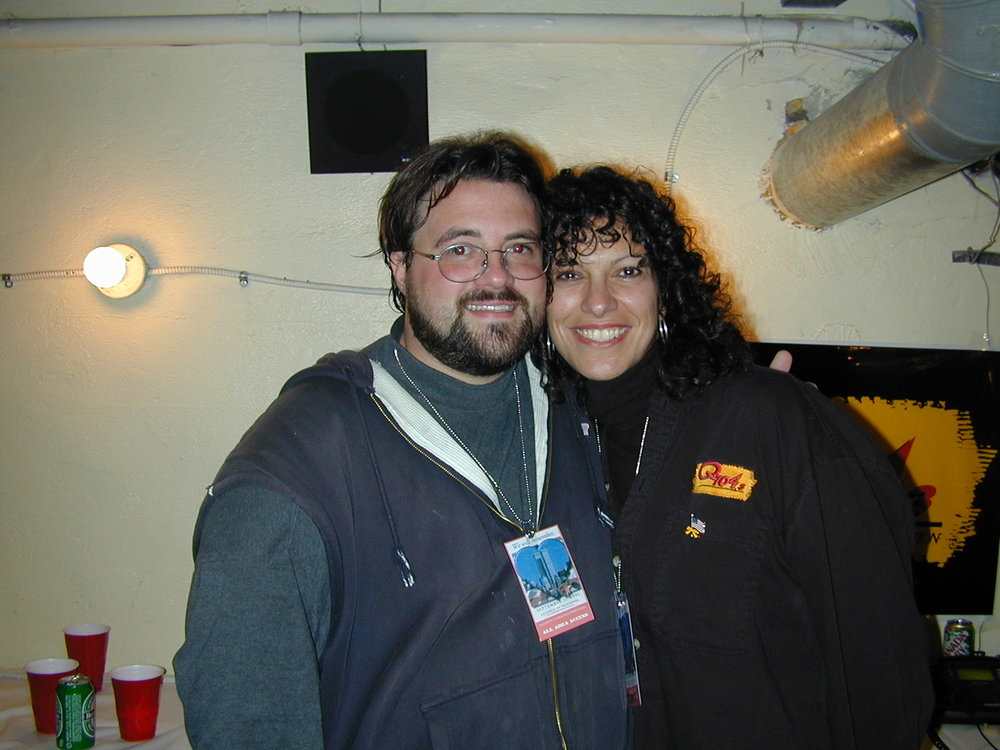 Kevin Smith and Maria Milito.  Photo by RD Mathers