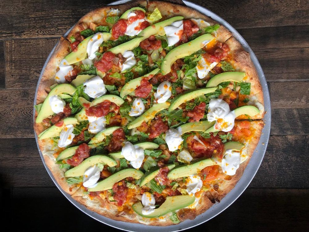 Try Our NEW Taco Pizza