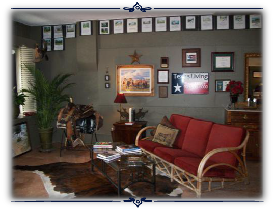Texas Living Real Estate - Interior Office