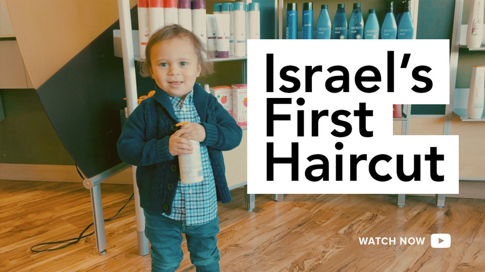 Israels First Haircut Hold The Mayos