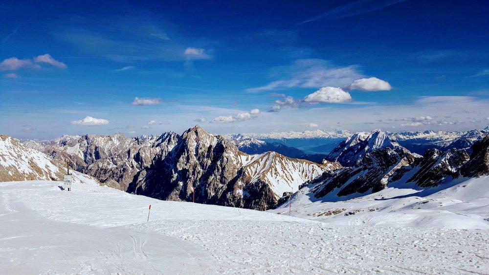 Zugspitze, Garmisch, Germany - Tallest mountain in Germany.