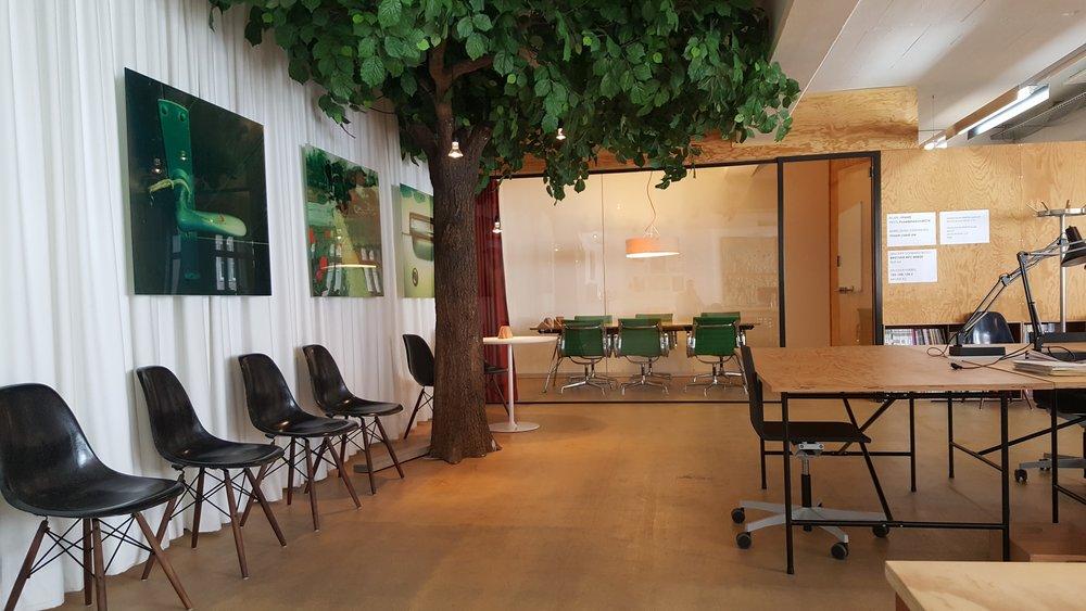 Rhizom, coworking space in Basel