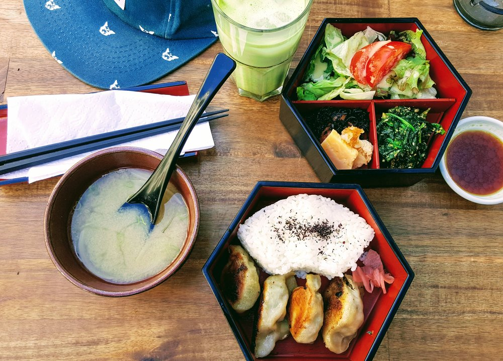 Vegetarian Bento Box @ Green Tea Cafe Mamecha