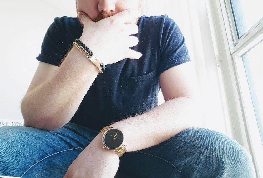 Bracelet & watch by Vitaly