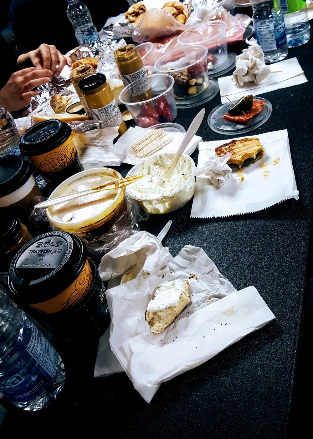St. Lawrence Market picnic feast