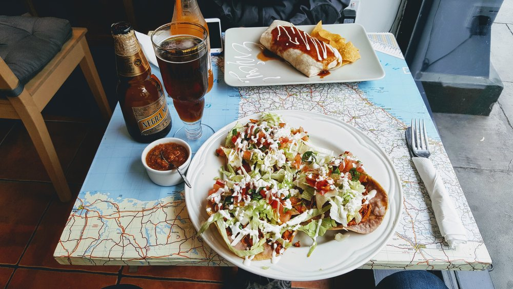 Amazing Mexican food in Dublin