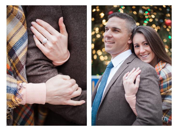 Quincy-Market-Engagement-christmas-tree-boston-wedding-photographer-photo