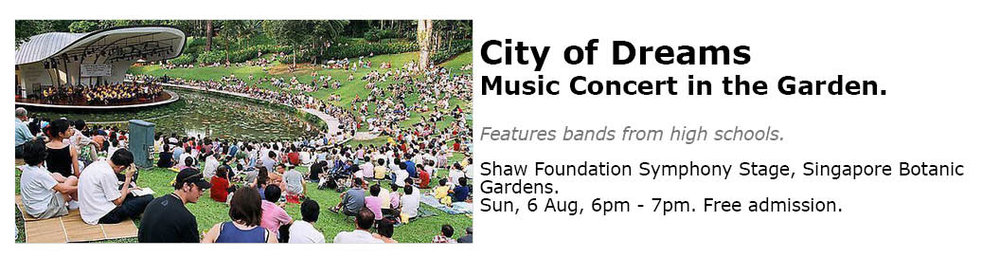 Botanic Gardens Concert