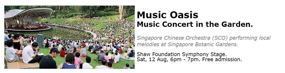Botanic Gardens Singapore Concert