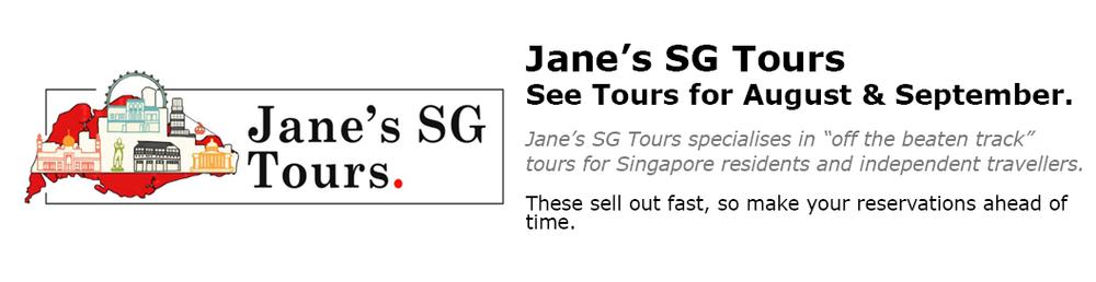 Jane's Singapore Tours
