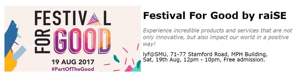 Festival For Good Singapore