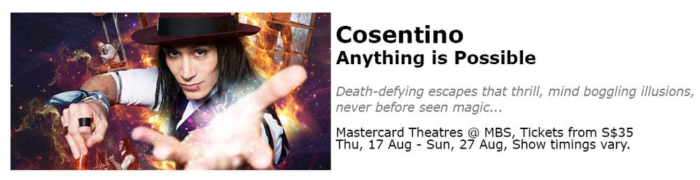 Mastercard Theatres Singapore