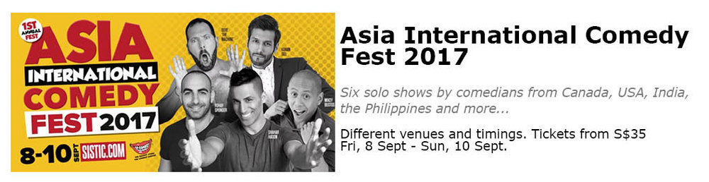 Asia International Comedy Fest Singapore