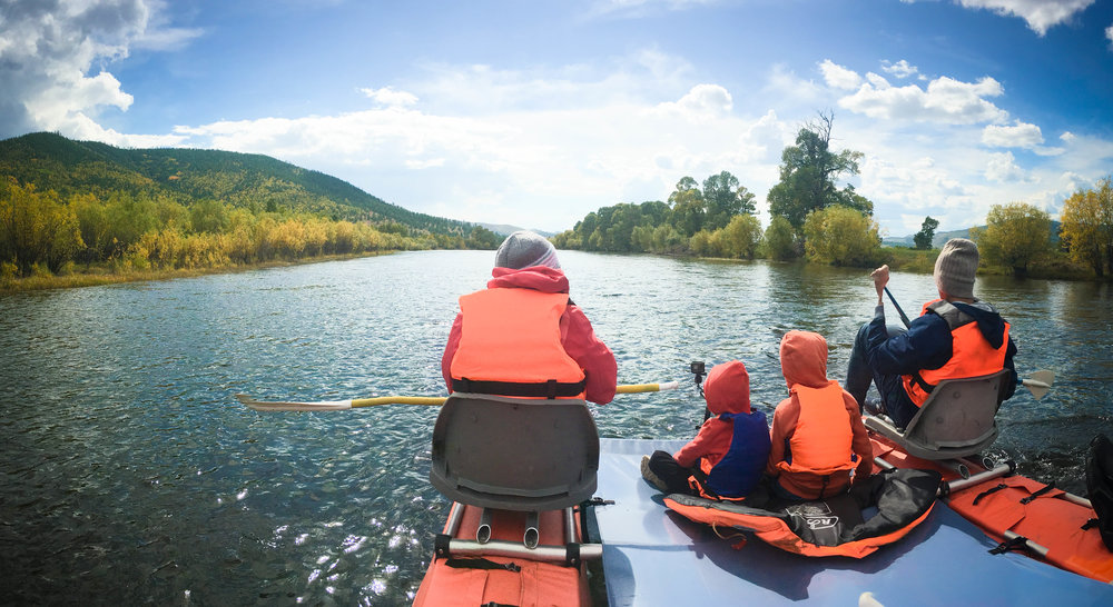 Mongolia River rafting
