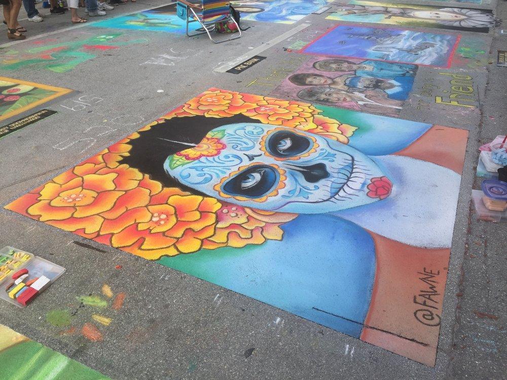 Lake Worth Street Painting Festival   Lake Worth, Florida February 2017
