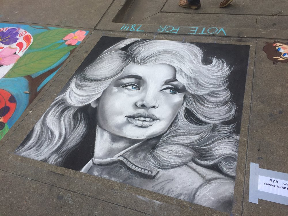 Knoxville Chalk Walk Knoxville, Tennessee April 2017