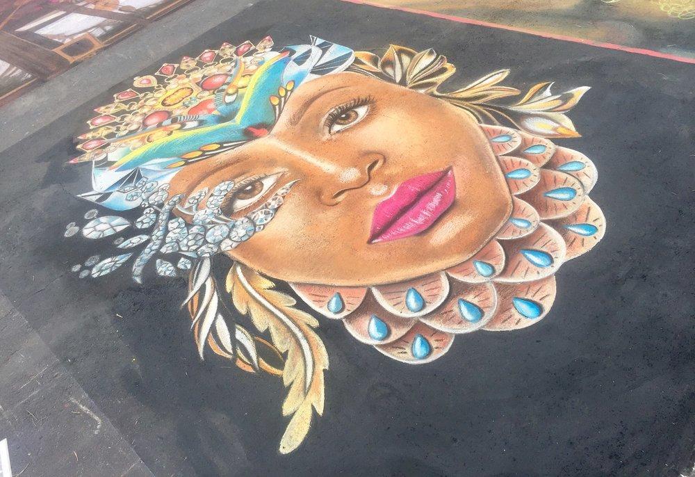 International Chalk Festival  Venice, Florida November 2017