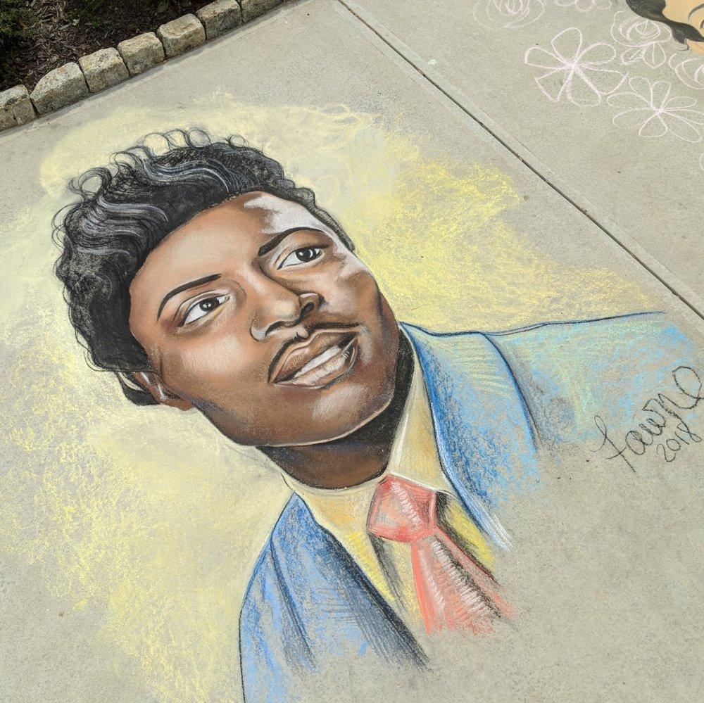 Macon-Bibb Sidewalk Chalk Festival  Macon, Georgia March 2018