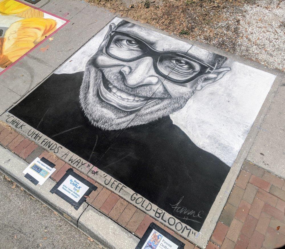 Bloom n Chalk Festival  Safety Harbor, Florida March 2018