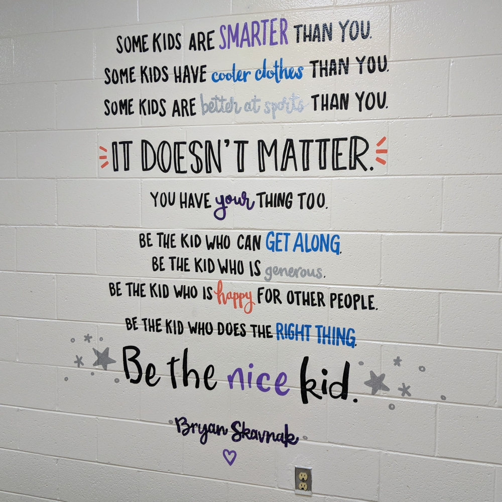 Be the Nice Kid