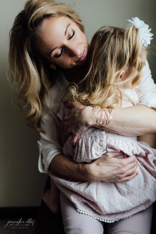 mama + daughter
