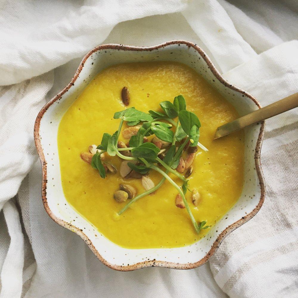 sassafras+health+turmeric+ginger+soup