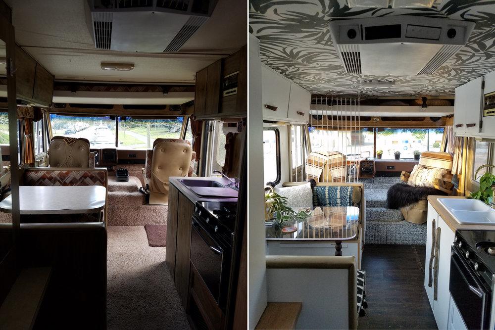 Rv Renovation Part 1 Liz Kamarul
