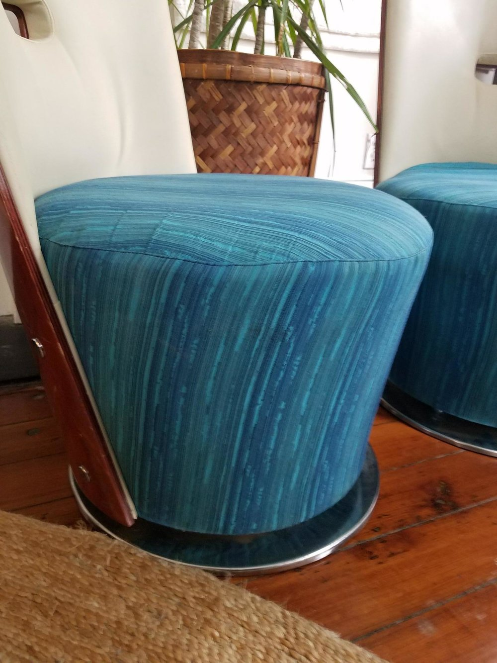 My $11 thrift store chairs.