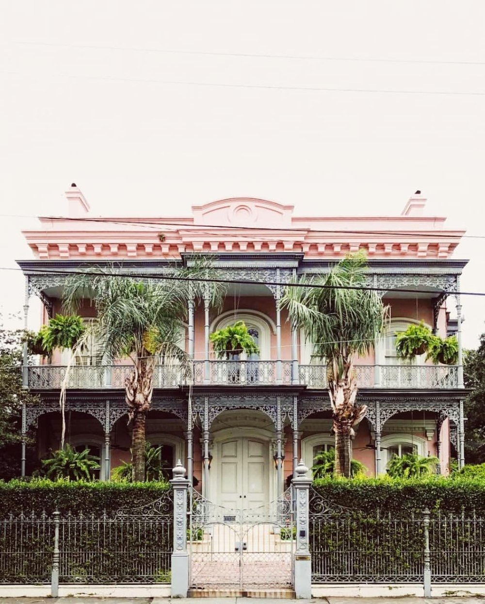 LOWER GARDEN AND GARDEN DISTRICT: Not to be missed. Full of enormous and ornate homes like this one.