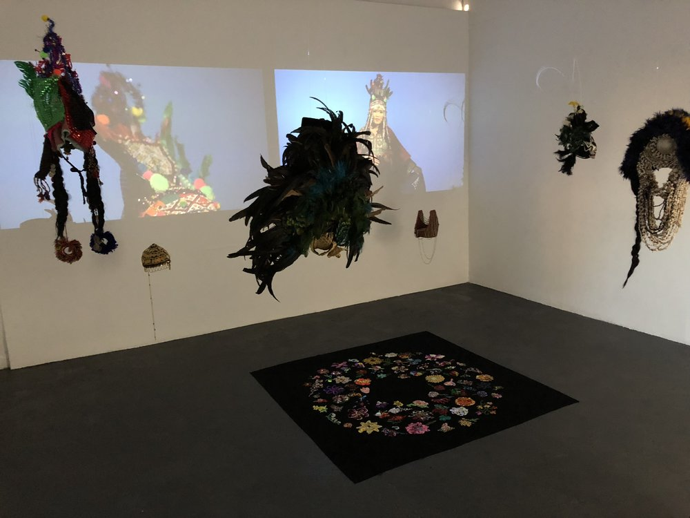 All of us,   Installation view, Blindside Gallery, Melbourne (2018).