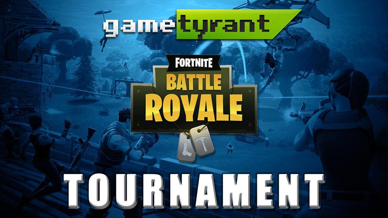 GameTyrant 1v1 PC Fortnite Tournament — GameTyrant Gaming