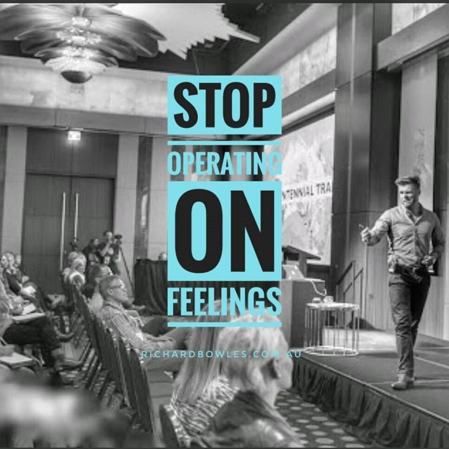 This is a must if you want to achieve success. If you go by how you feel, you'll never fee like it, it'll be to scary and uncomfortable. You can't feel your way through what it takes to achieve your goals. #salesconference  #keynotespeaker #conferencespeaker #speaker #professionalspeaker #eventplanner #eventplanning #eventprofs #eventprofsau #conferences #eventmanager #nationalconference #richardbowles #quotes #qoutesoftheday #success #successquotes #wordstoliveby #achieve #goals