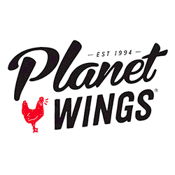 Planet Wings was conceived in 1994 by founders Franco and Paula Fidanza. They realized that there was an amazing untapped opportunity in the retail food establishment and delivery market.  For the most part, delivery service was limited to pizza and burgers and was being provided by only a handful of restaurants. With the growing popularity of chicken wings, Franco & Paula decided the market was ready for a concept that not only provided home delivery of their delicious chicken wings, but all their menu items… including cheese steaks, heroes, salads and kid's meals.  The first Planet Wings® concept store opened in January 1995 and Franco and Paula haven't looked back. They committed to using only the highest quality chicken available and to give their customers an incredible value for their money. They also offered 20 outrageous wing flavors (now 24) and prepared each customers meal fresh to order. Coupled with super convenient delivery service, Franco and Paula had discovered the recipe for success.  Planet Wings Franco and Paula spent the next couple of years perfecting the concept and now have stores throughout the greater NY metropolitan area and New Jersey. Paula and Franco have also stayed focused on giving back to the community, having contributed time, money and Planet Wings resources to charitable organizations and community programs designed to improve the quality of life for people in the communities where there is a Planet Wings store. To learn more about what Planet Wings is doing in local communities, visit the community section of this website.  Where else can you get 24 flavors of delicious chicken wings, sandwiches, salads, burgers, wraps, cheese steaks and kid's meals delivered to a customers door piping hot with one phone call!