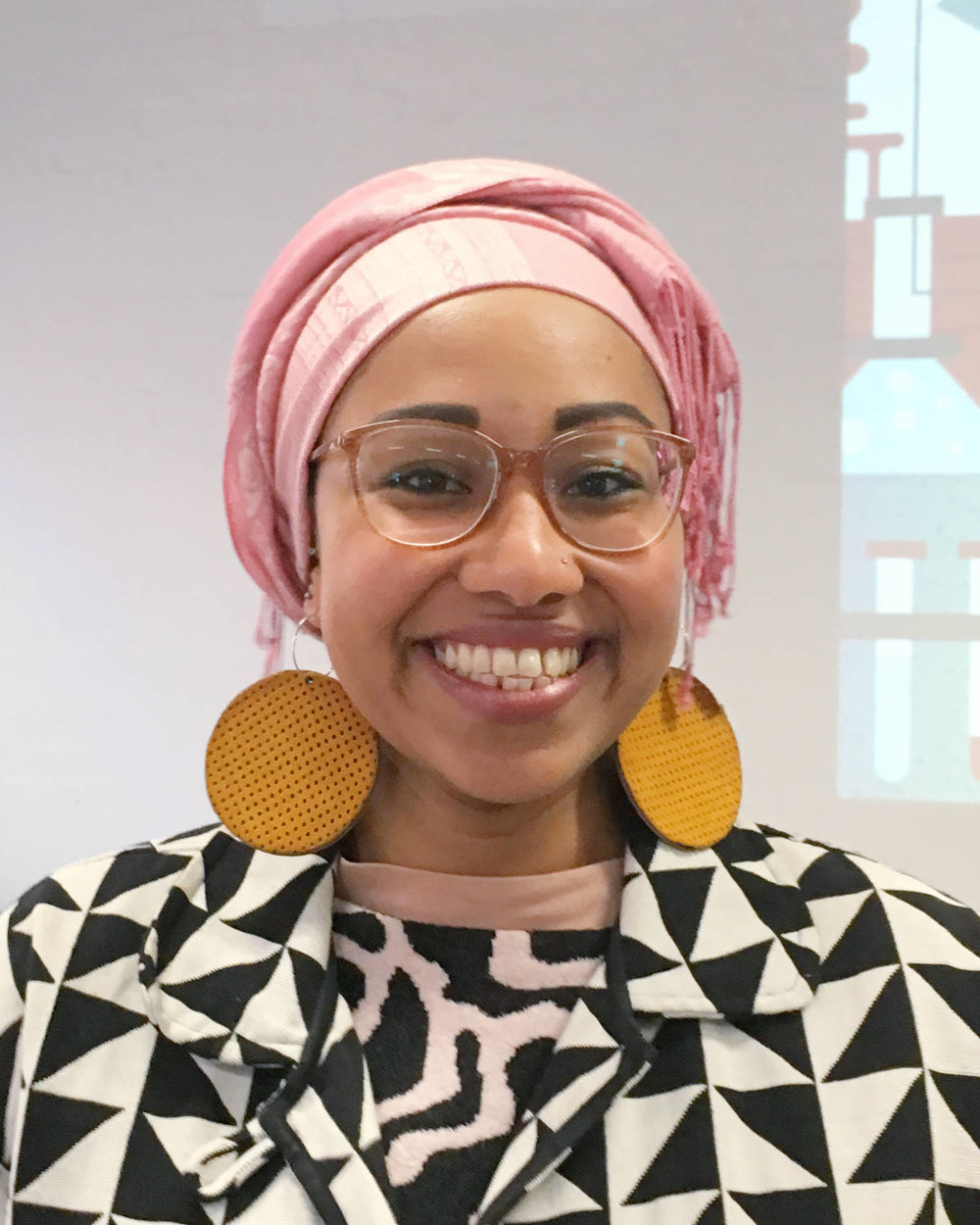 Yassmin Abdel-Magied at Creative Mornings Melbourne on 25 August 2017. Photo by Jade Tjia.