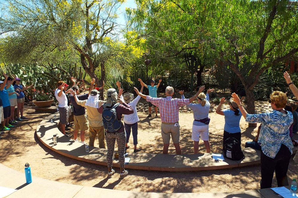 Qigong Retreat At The Desert Botanical Garden, AZ