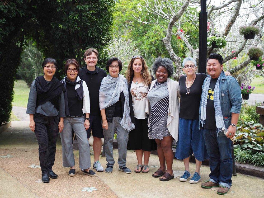 Qi Gong Group Practice in Chiang Rai