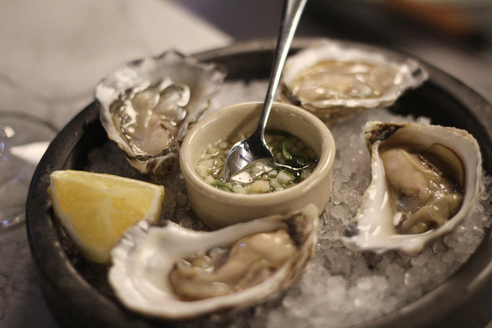 sydney rock oysters